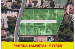 Parcelas urbanas en Salinetas. Petrer.